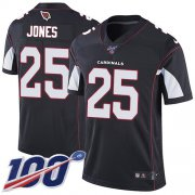 Wholesale Cheap Nike Cardinals #25 Chris Jones Black Alternate Men's Stitched NFL 100th Season Vapor Limited Jersey