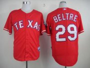 Wholesale Rangers #29 Adrian Beltre Red Cool Base Stitched Baseball Jersey