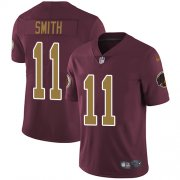 Wholesale Cheap Nike Redskins #11 Alex Smith Burgundy Red Alternate Men's Stitched NFL Vapor Untouchable Limited Jersey
