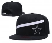 Wholesale Cheap Cowboys Team Logo Black Adjustable Hat LT