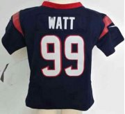 Wholesale Cheap Toddler Nike Texans #99 J.J. Watt Navy Blue Team Color Stitched NFL Elite Jersey