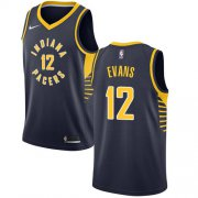 Wholesale Cheap Nike Pacers #12 Tyreke Evans Navy Blue NBA Swingman Icon Edition Jersey