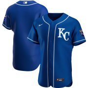 Wholesale Cheap Kansas City Royals Men's Nike Royal Alternate 2020 Authentic Official Team MLB Jersey
