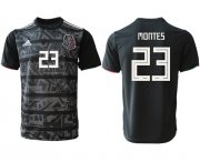 Wholesale Cheap Mexico #23 Montes Black Soccer Country Jersey