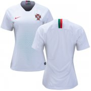 Wholesale Cheap Women's Portugal Blank Away Soccer Country Jersey