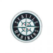 Wholesale Cheap Stitched MLB Seattle Mariners Home & Away Sleeve Jersey Patch