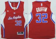 Cheap Los Angeles Clippers #32 Blake Griffin 2014 New Red Kids Jersey