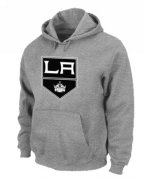 Wholesale Cheap NHL Los Angeles Kings Big & Tall Logo Pullover Hoodie Grey