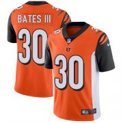 Wholesale Cheap Nike Bengals #30 Jessie Bates III Orange Alternate Youth Stitched NFL Vapor Untouchable Limited Jersey