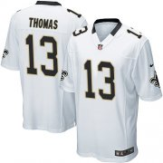Wholesale Cheap Nike Saints #13 Michael Thomas White Youth Stitched NFL Elite Jersey
