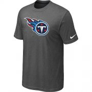 Wholesale Cheap Tennessee Titans Sideline Legend Authentic Logo Dri-FIT Nike NFL T-Shirt Crow Grey