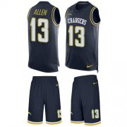 Wholesale Cheap Nike Chargers #13 Keenan Allen Navy Blue Team Color Men's Stitched NFL Limited Tank Top Suit Jersey