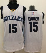 Wholesale Cheap Memphis Grizzlies #15 Vince Carter White Swingman Jersey
