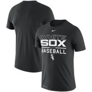 Wholesale Cheap Chicago White Sox Nike Practice Performance T-Shirt Black