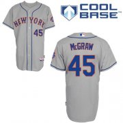 Wholesale Cheap Mets #45 Tug McGraw Grey Road Cool Base Stitched MLB Jersey