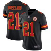 Wholesale Cheap Nike Chiefs #21 Bashaud Breeland Black Youth Stitched NFL Limited Rush Jersey