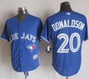 Wholesale Cheap Blue Jays #20 Josh Donaldson Blue New Cool Base Stitched MLB Jersey