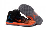 Wholesale Cheap Air Jordan 31 XXXI Shoes Black/Orange-Blue