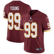 Wholesale Cheap Nike Redskins #99 Chase Young Burgundy Red Team Color Men's Stitched NFL Vapor Untouchable Limited Jersey