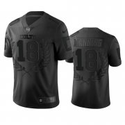 Wholesale Cheap Indianapolis Colts #18 Peyton Manning Men's Nike Black NFL MVP Limited Edition Jersey