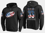 Wholesale Cheap Hurricanes #33 Scott Darling NHL Banner Wave Usa Flag Black Hoodie