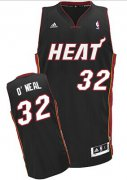Wholesale Cheap Miami Heat Blank #32 Shaquille O'neal Black Swingman Jersey