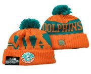 Wholesale Cheap Miami Dolphins Beanies Hat 1