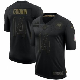 Cheap Tampa Bay Buccaneers #14 Chris Godwin Nike 2020 Salute To Service Limited Jersey Black