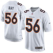 Wholesale Cheap Nike Broncos #56 Shane Ray White Men's Stitched NFL Game Event Jersey