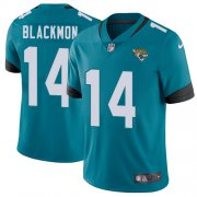 Wholesale Cheap Nike Jaguars #14 Justin Blackmon Teal Green Alternate Youth Stitched NFL Vapor Untouchable Limited Jersey