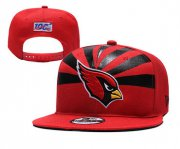 Wholesale Cheap Arizona Cardinals Team Logo Red 2019 Draft Adjustable Hat YD
