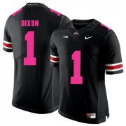 Wholesale Cheap Ohio State Buckeyes 1 Johnnie Dixon Black 2018 Breast Cancer Awareness College Football Jersey