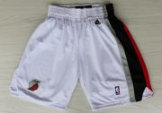 Wholesale Cheap Portland Trail Blazers White Short