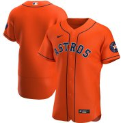 Wholesale Cheap Houston Astros Men's Nike Orange Alternate 2020 Authentic Team MLB Jersey