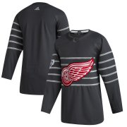 Wholesale Cheap Men's Detroit Red Wings Adidas Gray 2020 NHL All-Star Game Authentic Jersey