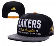 Wholesale Cheap NBA Los Angeles Lakers Snapback Ajustable Cap Hat XDF 009