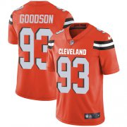 Wholesale Cheap Nike Browns #93 B.J. Goodson Orange Alternate Men's Stitched NFL Vapor Untouchable Limited Jersey
