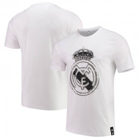 Wholesale Cheap Real Madrid adidas DNA T-Shirt White