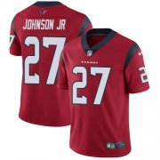 Wholesale Cheap Nike Texans #27 Duke Johnson Jr Red Alternate Youth Stitched NFL Vapor Untouchable Limited Jersey