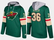 Wholesale Cheap Wild #36 Nick Seeler Green Name And Number Hoodie