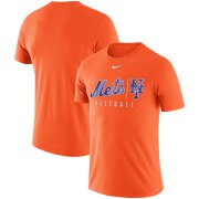 Wholesale Cheap New York Mets Nike MLB Practice T-Shirt Orange