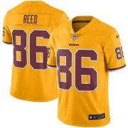 Wholesale Cheap Nike Redskins #86 Jordan Reed Gold Youth Stitched NFL Limited Rush Jersey