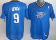 Wholesale Cheap Oklahoma City Thunder #9 Serge Ibaka Revolution 30 Swingman 2013 Christmas Day Blue Jersey