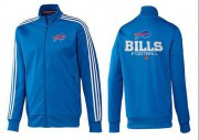 Wholesale Cheap NFL Buffalo Bills Victory Jacket Blue_2