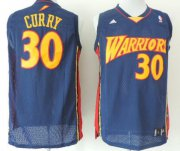 Wholesale Cheap Golden State Warriors #30 Stephen Curry 2009 Navy Blue Swingman Jersey