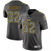 Wholesale Cheap Nike Steelers #32 Franco Harris Gray Static Men's Stitched NFL Vapor Untouchable Limited Jersey