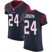 Wholesale Cheap Nike Texans #24 Johnathan Joseph Navy Blue Team Color Men's Stitched NFL Vapor Untouchable Elite Jersey