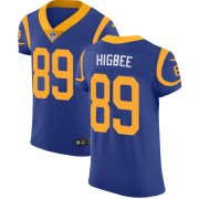 Wholesale Cheap Nike Rams #89 Tyler Higbee Royal Blue Alternate Men's Stitched NFL Vapor Untouchable Elite Jersey
