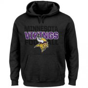 Wholesale Cheap Minnesota Vikings 1st and Goal VI Hoodie Charcoal