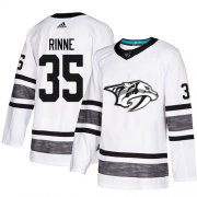 Wholesale Cheap Adidas Predators #35 Pekka Rinne White Authentic 2019 All-Star Stitched NHL Jersey